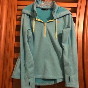 Fila sport hooded workout blue jacket